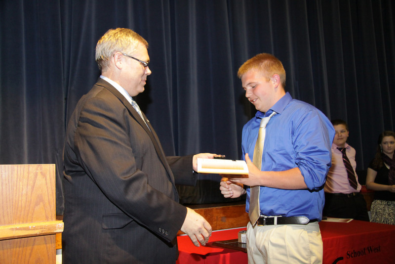 Awards Night 2012 - Student of the Year: Science Interactions 3