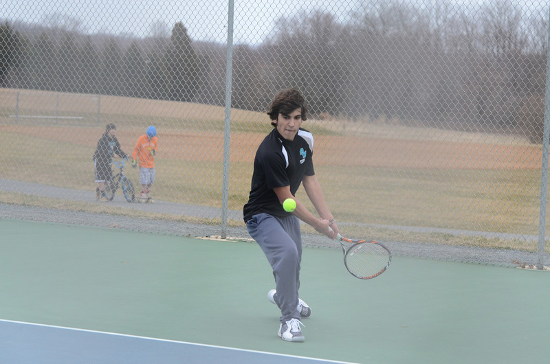 Varsity Tennis March 11 vs Perry Hall