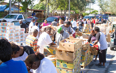 Feed Families Event