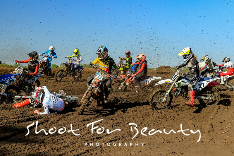Rider Plate 8 - Saturday Race