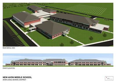Avon Middle School renderings