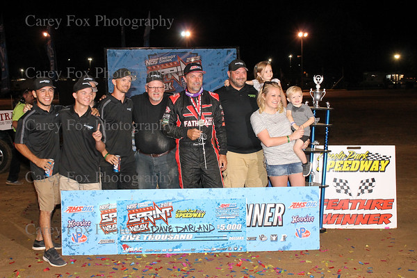 July 26, 2018  - USAC Indiana Sprint Week