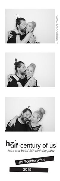Photo Booth Compleanno milano - 50 anni - Barbara e Fabio