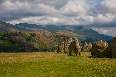 Lake District Day 3: Castlerigg Stone Cricle, 06/08/2014