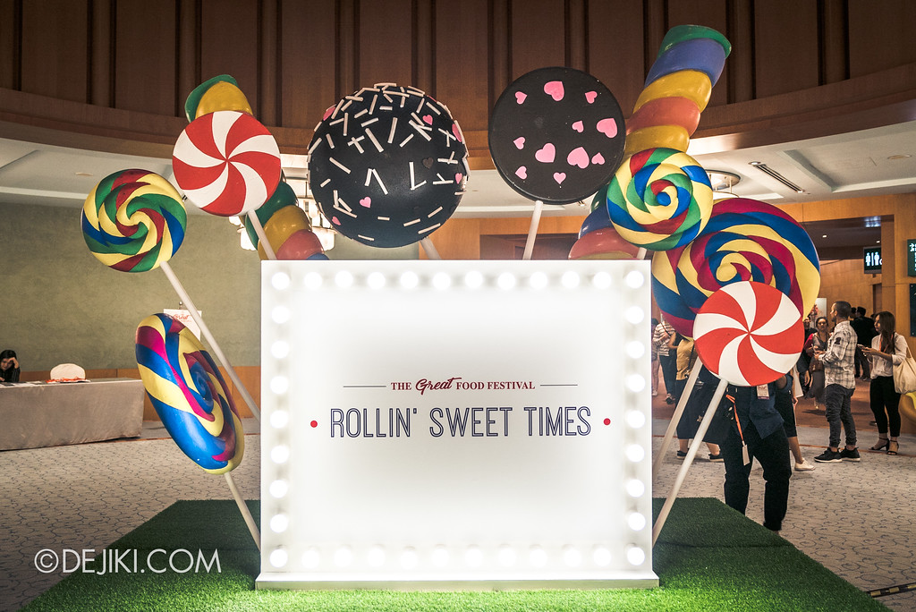 The Great Food Festival RWS - Rollin' Sweet Times entrance