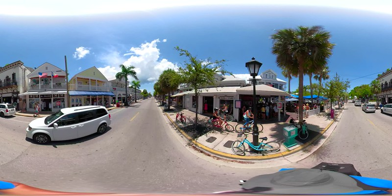 Summer 2018 360vr footage of Key West Florida