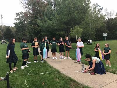 Sixth Grade Hot Air Balloon Launch