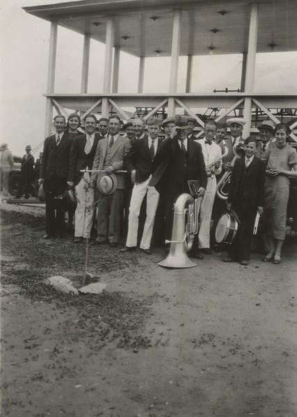 JB021.  Joey 3rd from L - Band at GHS – Jun 1933.jpg