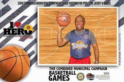 October 19, 2018 - The Combined Municipal Campaign Basketball Games