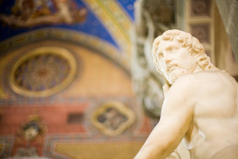 The Redeemer sculpture, by Michelangelo, Santa Maria Sopra Minerva Basilica, Rome