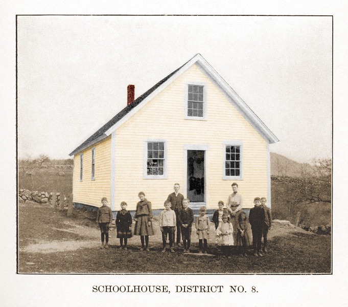 School House 8 | 22x16