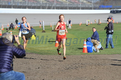 Finish Gallery 2, D3 GIRLS - 2016 MHSAA LP XC FINALS