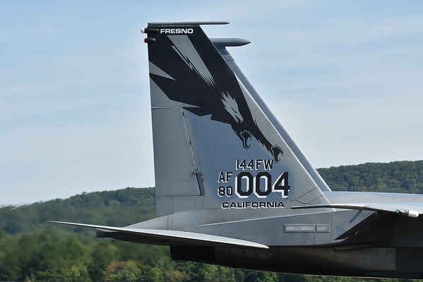 F-15 Eagles of the 144th Fighter Wing