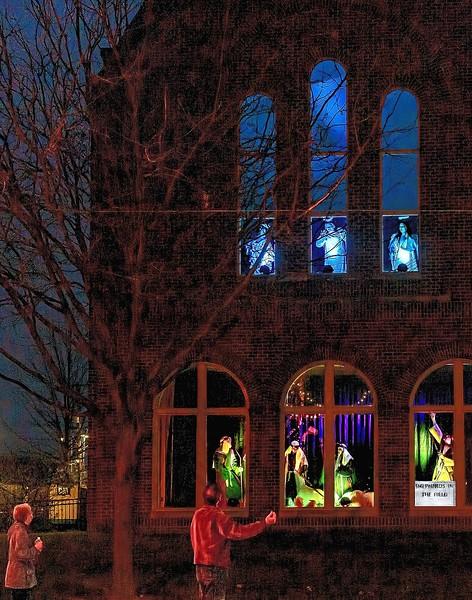 Advent Display 12 13 2020 Central Christian Lexington KY