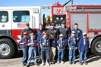 Parker Boy Scouts Visit
