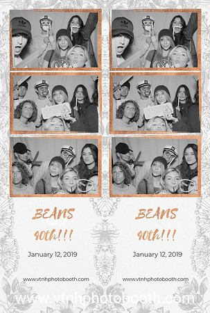Photo Strips - 1/12/19 - Beans 40th