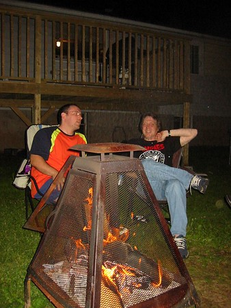 Bonfire at Donnie's & Kelly's AGAIN!