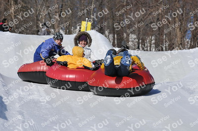 Snow Tubing 3-9-13 3pm-5pm Session