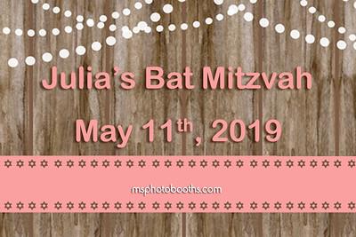2019-05-11 Julia's Bat Mitzvah