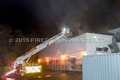 Ontario St. Building Fire (Stratford, CT) 10/28/15