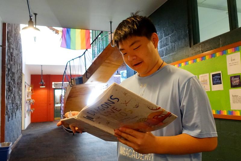 Academ- Evan reads.JPG