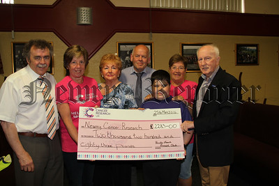 CHEQUE TO CANCER RESEARCH