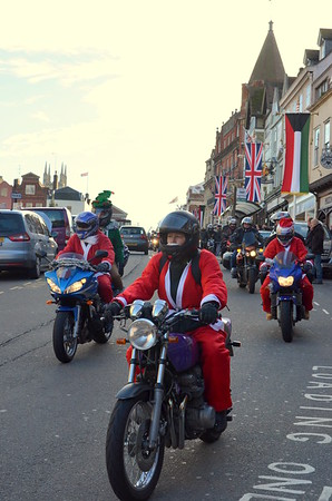 Broom Farm Toy Run 2012