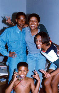 "Gary ""G"" 'n cuz Ebony visit to Los Angeles, California Aug 1996"