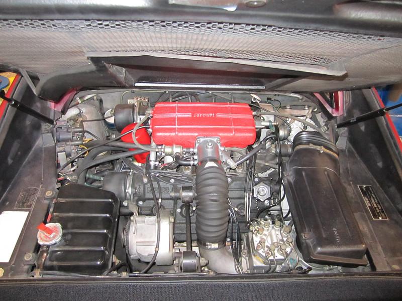 Engine shot.
