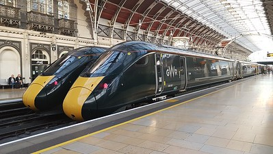 800 030, London Paddington Station