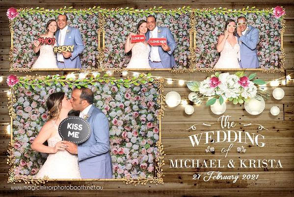 Krista & Michael's Wedding - The Woolshed, Yallah