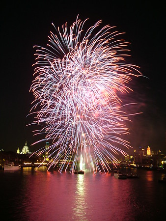 Lord Mayor's Fireworks, London