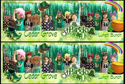 Cedar Grove St. Patrick's Day Lunch Bunch