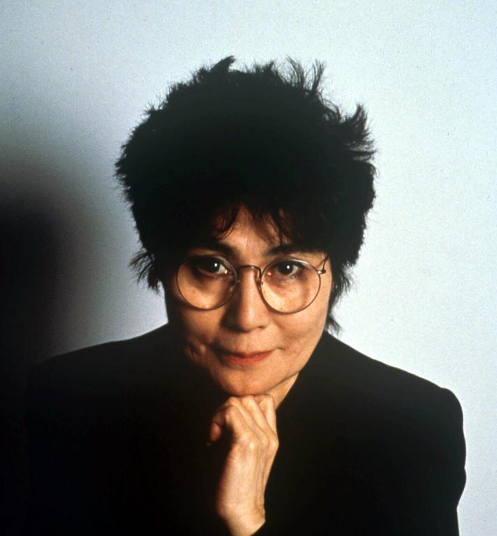 . Yoko Ono is shown in this 1990 photo. (AP Photo)