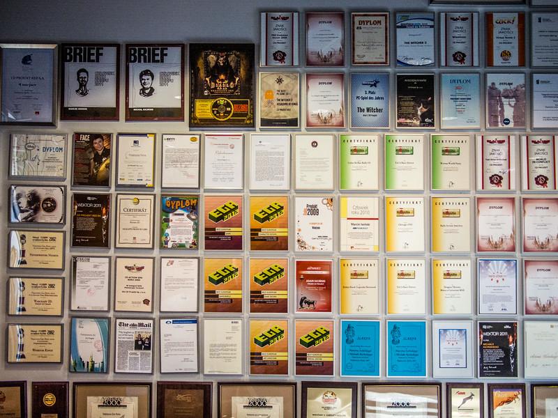 CD Projekt office in Warsaw