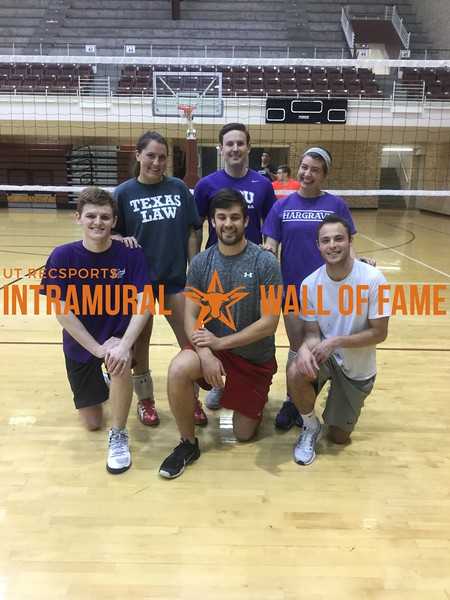 Spring 2018 Law Society Volleyball Champion Hargrave Society
