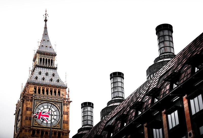 Big Ben at UK parliament
