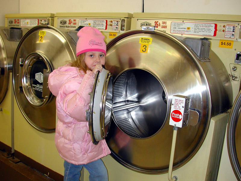 I can wash a lot of my dolls clothes in here.