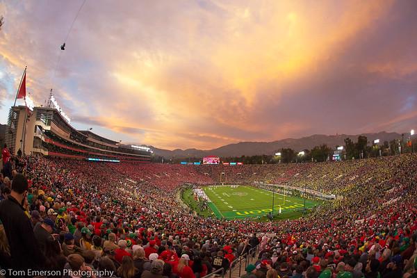Photography- Oregon Ducks Football