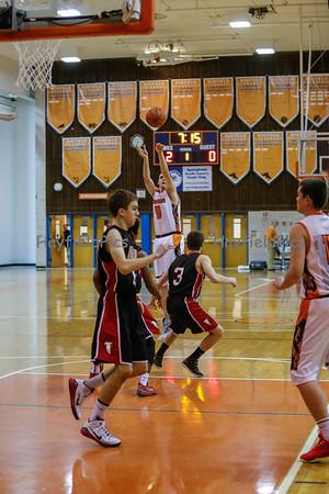 Boys Varsity Basketball v Madison 1/23/15