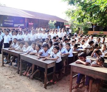 Spitler School Opening Ceremonies 2011