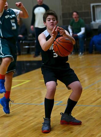 Outlaws 5th & 6th Grade Boys Basketblal @ Central Oregon Shotout 1-17-15