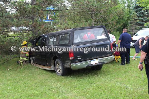 6/19/18 - Mason car vs tree, inside Hayes Park