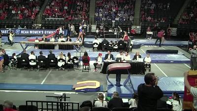 4.5.19 UNH Gymnastics NCAA Rd. 2 -V-Nicole O'Leary, AA-Danielle Mulligan