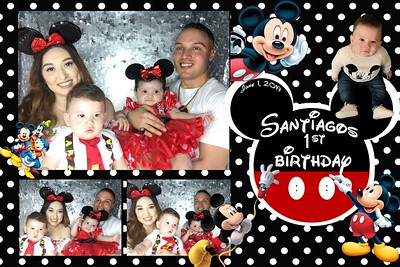 Santiago's 1st Birthday