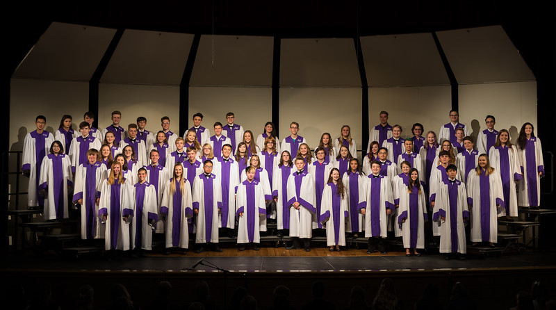Arvada West Choir Fall Concert 2018 Part 2