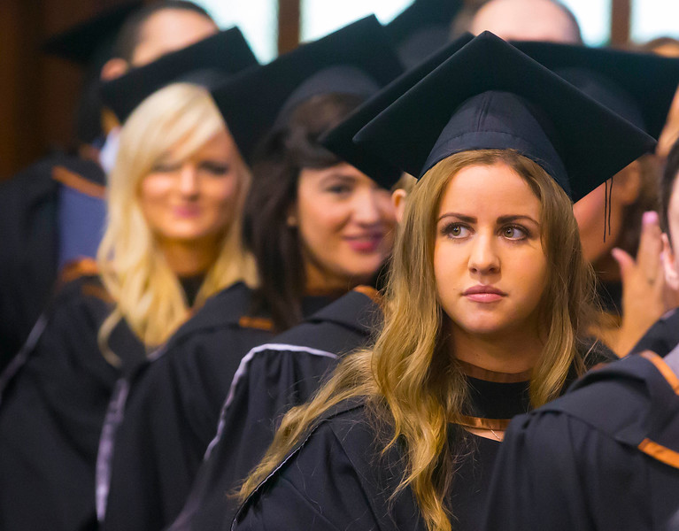Waterford Institute Of Technology Conferring. Pictured at WIT Waterford Institute Of Technology Conferring is Ciara Whyte, Clonmel, Co. Tipperary who graduated Bachelor of Science (Honours) in Nursing. Picture: Patrick Browne