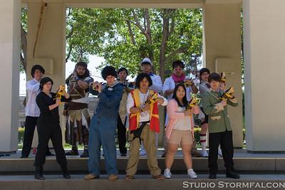 FanimeCon 2014 Kyoryuger Photoshoot