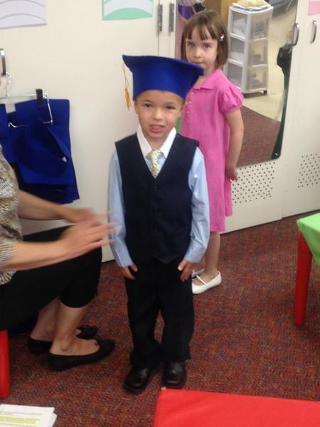 Dirk Pre School Graduation