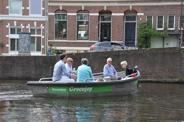 Boating in Haarlem